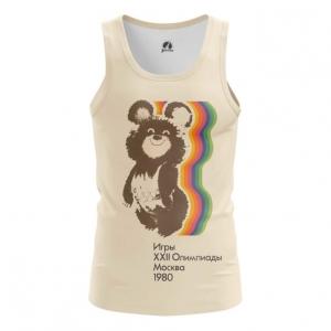 Merch Women'S Tank Olympic Games 1980 Ussr Symbols Bear Vest