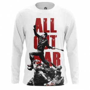 Collectibles Men'S Long Sleeve All Out War Walking Dead