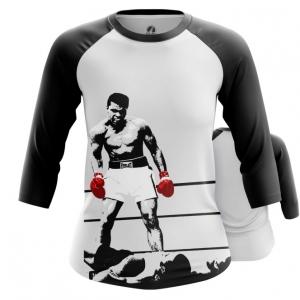 Merchandise - Women Raglan Champion Muhammad Ali