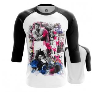 Merchandise - Mens Raglan Muhammad Ali Art Merch