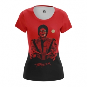 Collectibles Women'S T-Shirt Thriller Michael Jackson Top