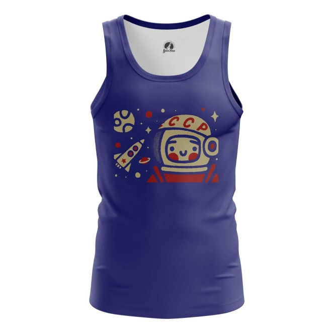 Collectibles Men'S Tank Yuri Gagarin Space Merch Vest