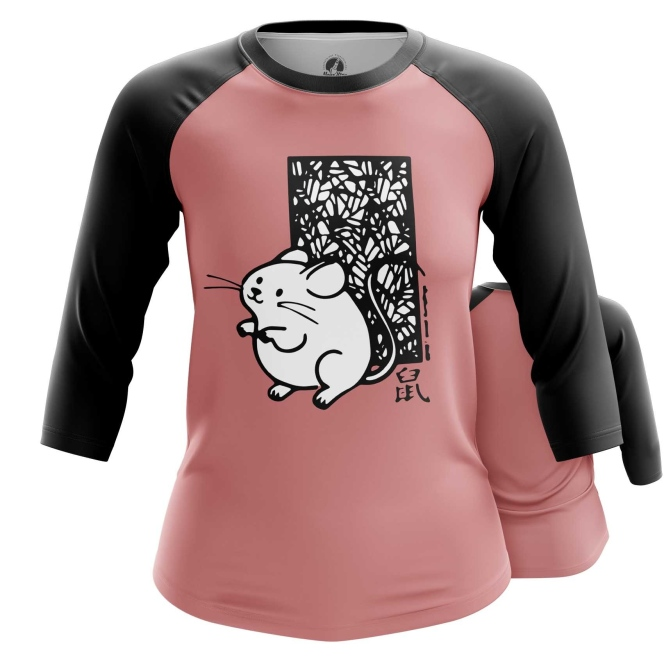 Collectibles Women'S Raglan Rats 2020 Mascot Symbols