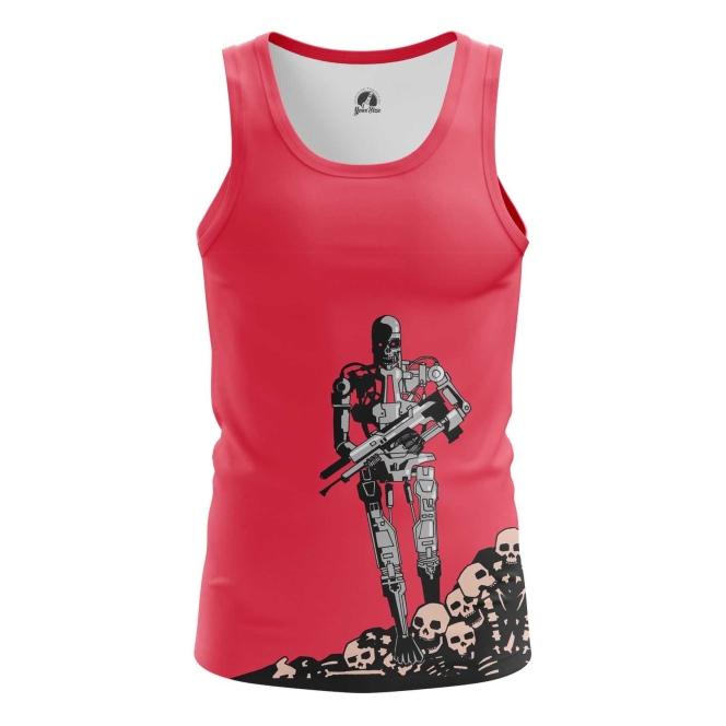 Merch Men'S Tank T-600 Terminator Vest