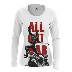 Collectibles Women'S Long Sleeve All Out War Walking Dead