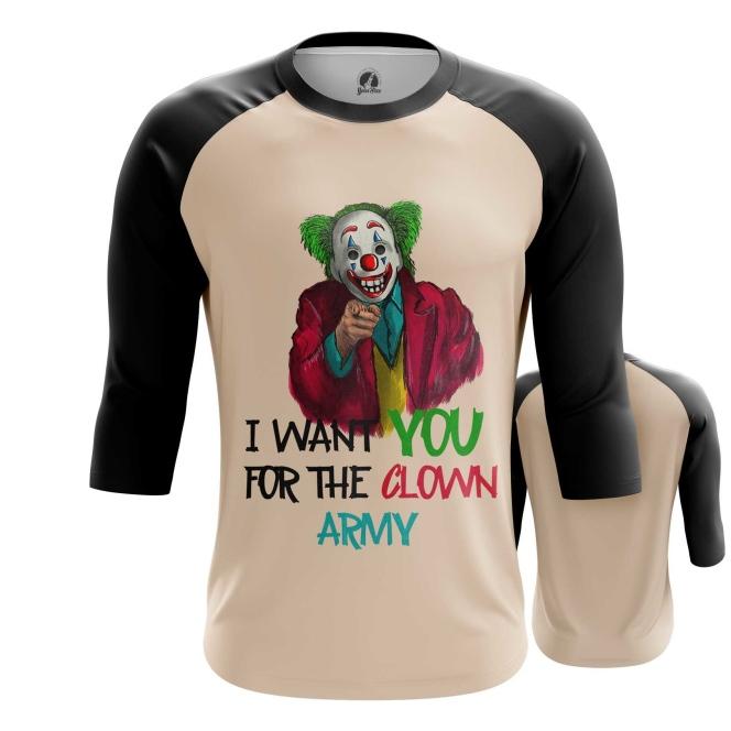 Collectibles Men'S Raglan Join Clown Army Joker