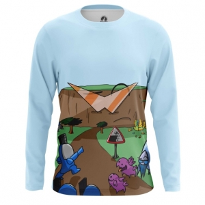 Merch - Mens Long Sleeve Starcraft Carbot Animation Paint