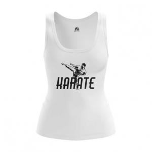 Merchandise Women'S Tank Karate Merch White Vest
