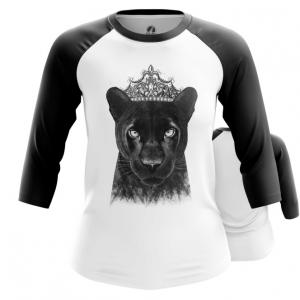 Merchandise Womens Raglan Panther Merch Print