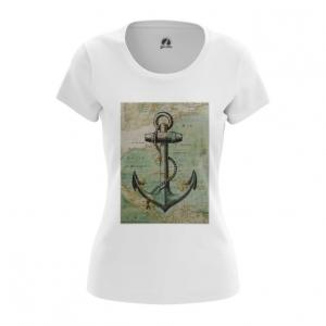 Collectibles Women'S T-Shirt Sea Anchor Print Top