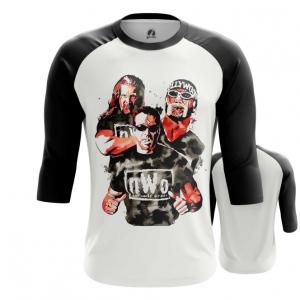 Merch Men'S Raglan Wrestling Team Wwe