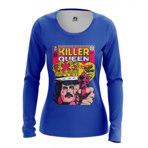Merchandise Women'S Long Sleeve Killer Queen Freddie Mercury