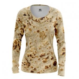 Merchandise Women'S Long Sleeve Pita Print Tortillas