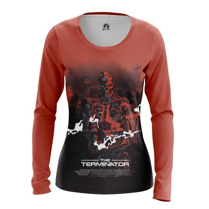Merchandise Women'S Long Sleeve Terminator Endoskeleton Robot