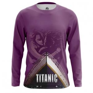 Merch Men'S Long Sleeve Titanic Print Ship