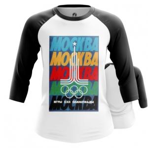 Merch Women'S Raglan Moscow 1980 Olympic Games Clothing