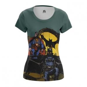 Merch Women'S T-Shirt Steampunk Batman Superman Top