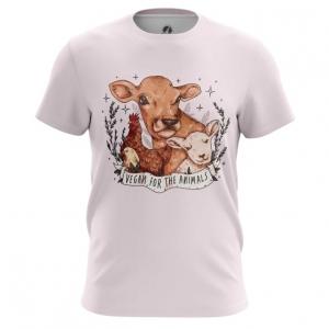 Merch Vegan Men'S T-Shirt Animals Merch Top