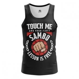 Merchandise Men'S Tank Russian Sambo Merch Clothing Vest