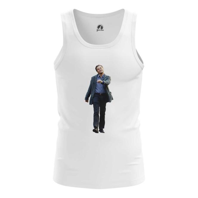 Merchandise Men'S Tank Мем С Di Caprio Happy Vest