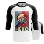 Merch Men'S Raglan Hero Yuri Gagarin The Hero