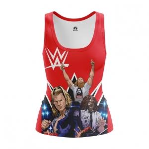 Merch Women'S Tank Wwe Wrestling Merch Vest
