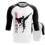 Merchandise - Mens Raglan Taekwondo Merch Print