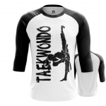 Merchandise - Mens Raglan Taekwondo Merch Martial Art
