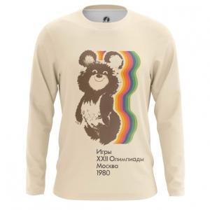 Merch Men'S Long Sleeve Olympic Games 1980 Ussr Symbols Bear