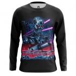 Merchandise Men'S Long Sleeve Terminator New Retrowave