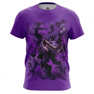 Merch Men'S T-Shirt Twisted Bonnie Five Nights At Freddy'S Top