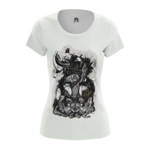 Merchandise Nordic Women'S T-Shirt Thor'S Hammer Vikings