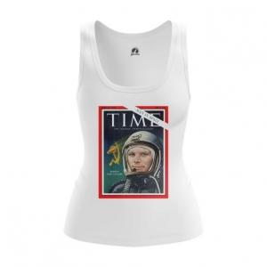 Collectibles Women'S Tank Magazine Cover Time Yuri Gagarin Vest