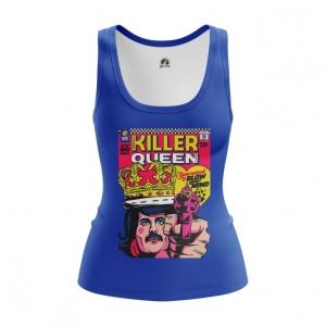 Merchandise Women'S Tank Killer Queen Freddie Mercury Vest