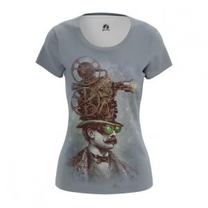 Collectibles Steampunk Women'S T-Shirt Grey