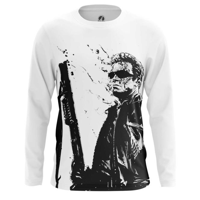 Merchandise Men'S Long Sleeve Schwarzenegger Terminator