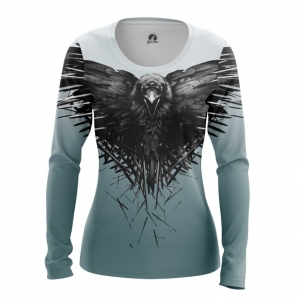Collectibles Women'S Long Sleeve Third Eye Crow Game Of Thrones