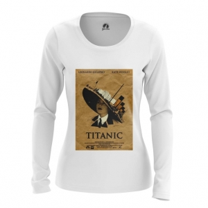 Merch Women'S Long Sleeve Titanic 90Th Movie