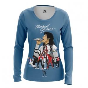 Collectibles Women'S Long Sleeve Michael Jackson Tribute Merch