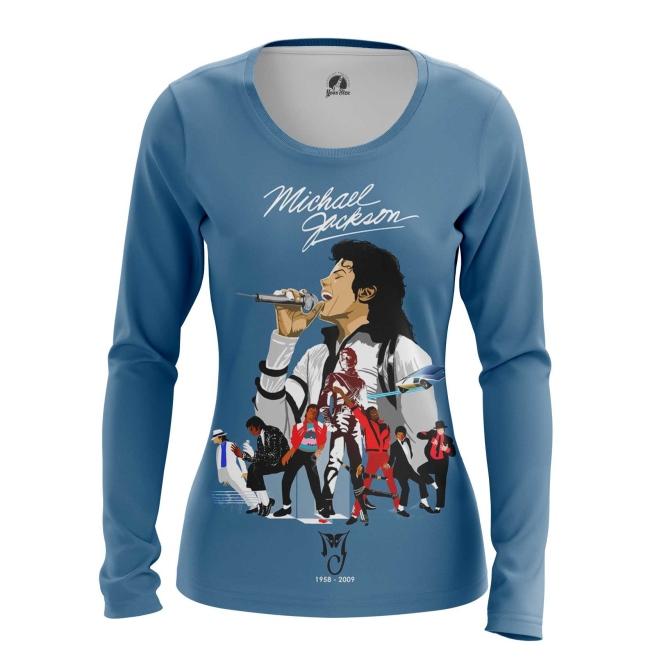 Merch Women'S Long Sleeve Michael Jackson Tribute Merch