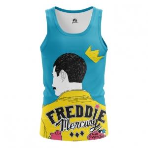 Merchandise Men'S Tank Freddie Mercury Queen Yellow Vest