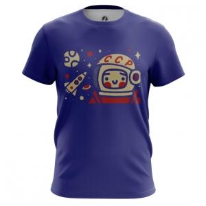 Collectibles Men'S T-Shirt Yuri Gagarin Space Merch Top