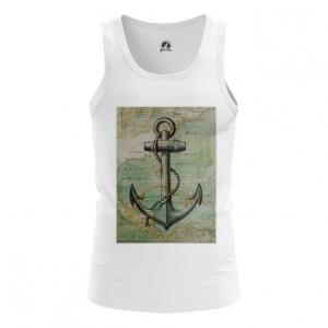 Collectibles Men'S Tank Sea Anchor Print Vest