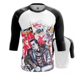 Merchandise - Mens Raglan Mayakovsky Revolution Merch