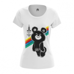 Merch Women'S T-Shirt Olympic Games 80 Top