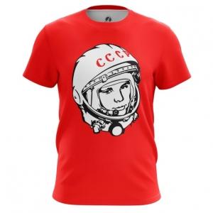 Collectibles Men'S T-Shirt Yuri Gagarin Cosmonaut Top