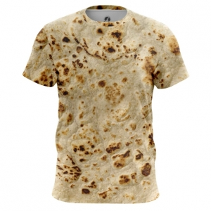 Merchandise Men'S T-Shirt Pita Print Tortillas Top
