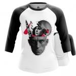 Merchandise - Women Raglan Alive Mayakovsky Conceptually