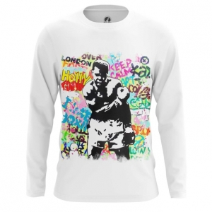 Merchandise - Mens Long Sleeve Muhammad Ali Merch