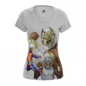 Merch Women'S T-Shirt Wrestler Carístico Mistico Wwe Top